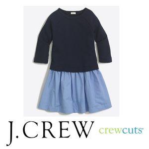 J. CREW Girls chambray sweatshirt Sz. 8